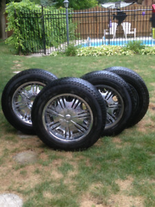 """Tires and Rims - 20"""""""