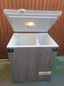 Designer large chest freezer, nice and clean. Delivery