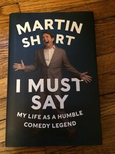 Martin Short signed book
