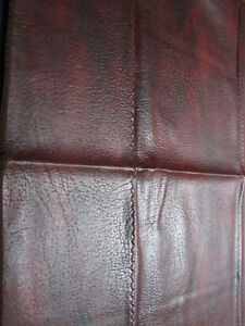 6 x 12 Snooker Table Dust Cover - Burgundy Naugahyde Fitted