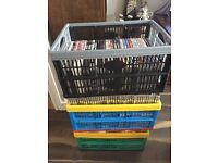 Massive Job Lot of DVDs and CDs approximately 250 items