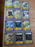 Full set of Digimon the movie cards. Great condition. 12 cards.