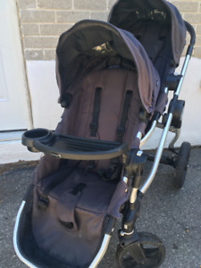 Double stroller - City Select with car seat adaptor