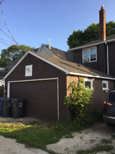 Double garage in Scotia Heights (insulated and with power)