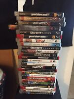 PS3 and 25 games