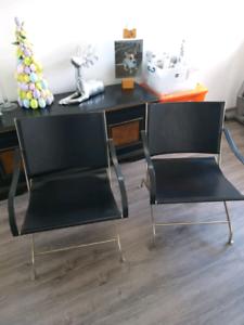 Flexform armchairs