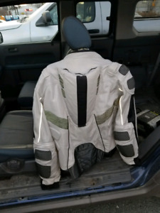 Used great shape motorcycle armoured jacket Medium  to Large