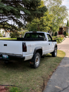 1995 chevy k2500 6.5 turbo diesel 4x4