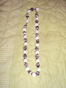 collection of 10 necklaces from the 1960-70's