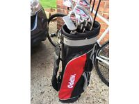 Howson pro drive by hippo golf clubs and bag