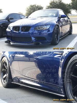 - CARBON FIBER 08-13 BMW E92 COUPE 2Dr M3 SIDE SKIRTS EXTENSION