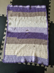 Crochet Blanket for Carseat