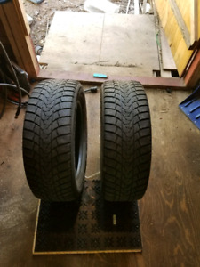 2 205/60R16 winter tires for sale