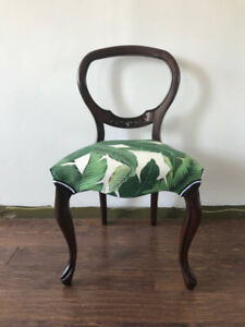 Vintage Reupholstered Chair