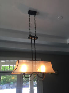 Dining Room Light Fixture - Excellent condition