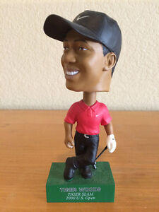 Tiger Woods Tiger Slam 2000 US Open Bobble Head London Ontario image 1