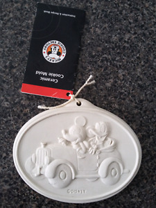 Disney ceramic cookie mold