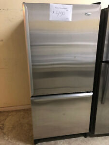 Refrigerateur stainless Amana