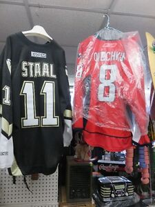 HOCKEY JERSEYS - NEW & VINTAGE