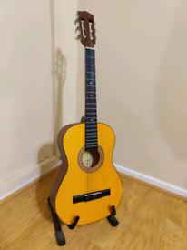 Encore ENC36N 3/4 Size 6 String Classical Vintage Acoustic Guitar