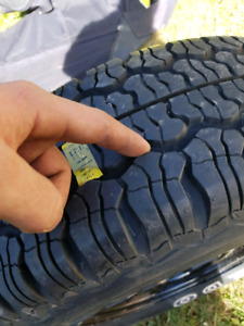 Brand new spare jeep tire