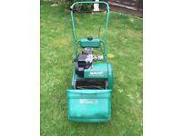Qualcast 35s petrol self drive cylinder lawn mower