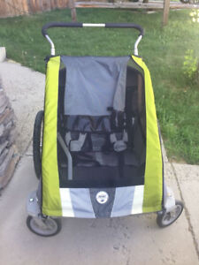 chariot stroller and bike trailer