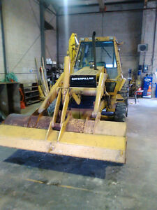 Cat 426 backhoe
