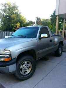 2001 chevy silverado shortbox