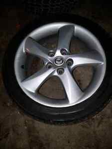 """17"""" Mazda Rims and Tires"""