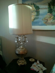 Floor lamp, table lamps, hanging lamp sets