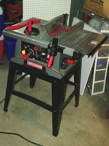"Craftsman 10"" - 2.7HP Table Saw Like New"
