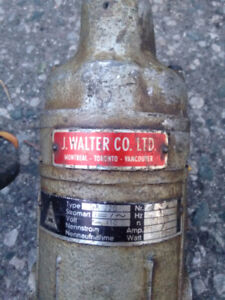 j.Walter co. ltd. power nibbler/sheet metal cutter.