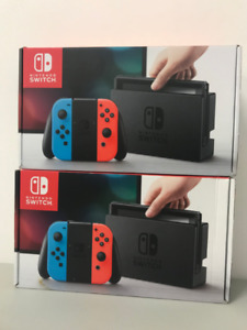 Nintendo Switch Consoles - Complete in Box