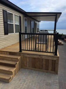 Waterfront Trailer at Sherkston - A little piece of Paradise!