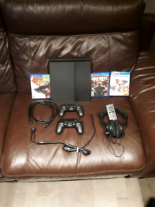 PS4 Black Ops 3 bundle with games and headset