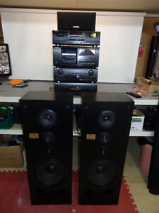 PIONEER STEREO SYSTEM, M980 AMP, CX-770S PRE-AMP...