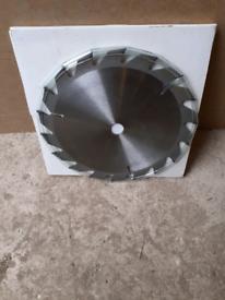 CIRCULAR SAW BLADE FOR WOOD. 184mm diameter. Job lot 15 saws. £15.