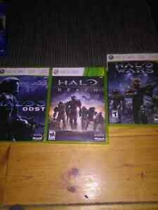 3 halo games for $25