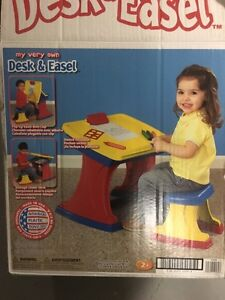 Brand new desk and bench for kids