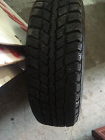 set of 4 winter tires very nice