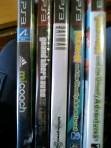 Ps3 games great condition