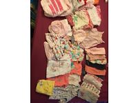 Baby girl bundle newborn/one month