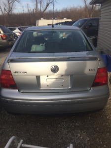 2001 VW Jetta Part Out!