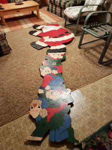 Wooden Christmas Ddecorations