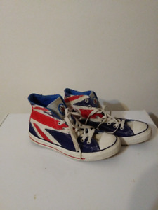 """Souliers Converse All-Star Édition """"The Who"""" (Grd: 8)"""