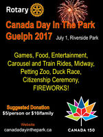 Canada Day In The Park, Guelph
