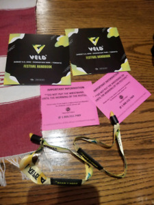 VELD VIP TICKETS UNREGESTERED