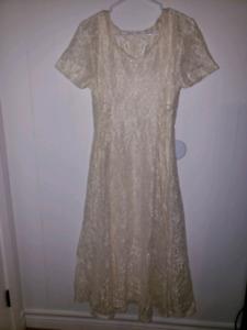 Custom Bohemian lace dress