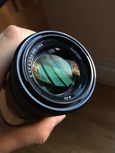 Sony e mount 55-210 mm telephoto lens